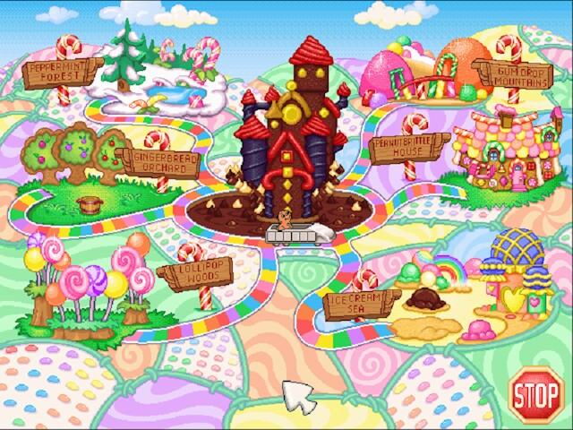 candyland computer game