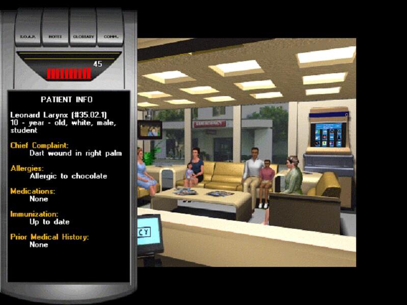 Emergency Room Code Blue Game Windows