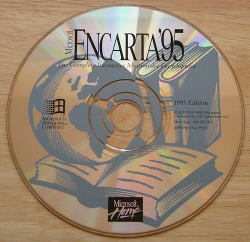 MICROSOFT ENCARTA '95 w/MIND MAZE  1Clk Windows 10 8 7 Vista ...