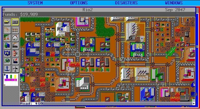 Výsledek obrázku pro simcity 1989