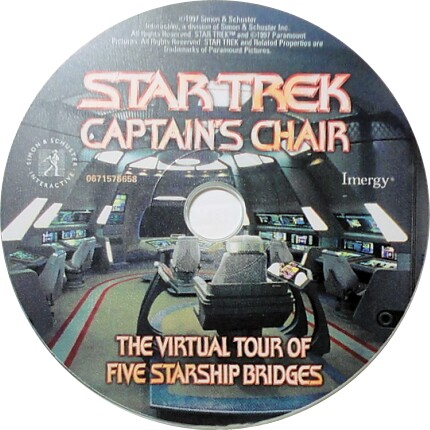Star Trek Captain's Chair 1CLK XP Vista Windows 7 8 Install