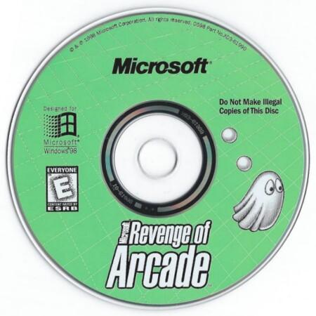 Microsoft Revenge Of Arcade Ms Pac Man Pc 1clk Windows 10 8 7