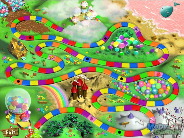 candy land candyland pc game hasbro 1clk windows 10 8 7 vista xp
