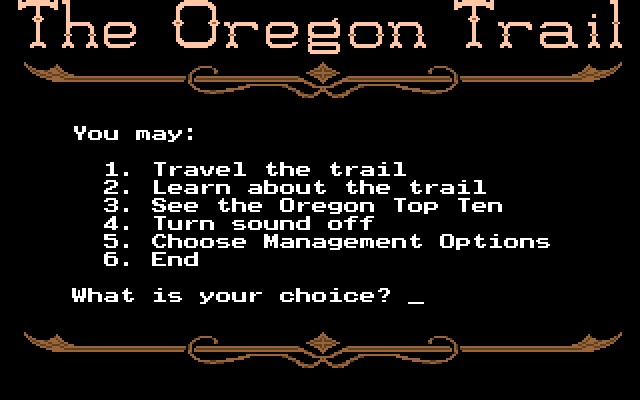 oregon trail  windows 10